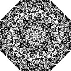 Elvis Presley Pattern Folding Umbrellas by Valentinaart