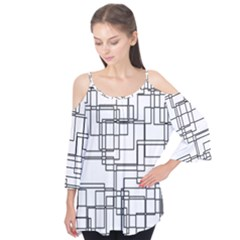 Structure Pattern Network Flutter Tees