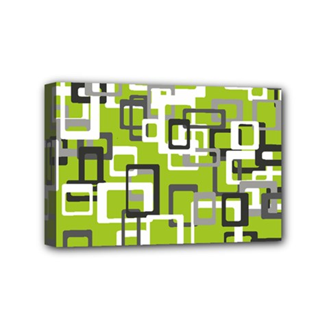 Pattern Abstract Form Four Corner Mini Canvas 6  X 4  by Nexatart
