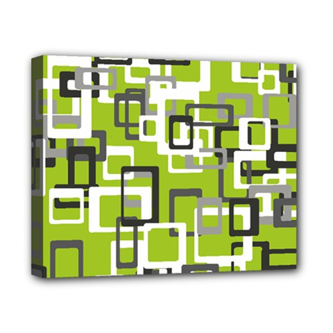 Pattern Abstract Form Four Corner Canvas 10  X 8