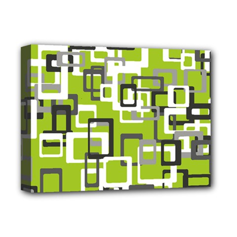 Pattern Abstract Form Four Corner Deluxe Canvas 16  X 12   by Nexatart