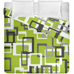 Pattern Abstract Form Four Corner Duvet Cover Double Side (king Size)