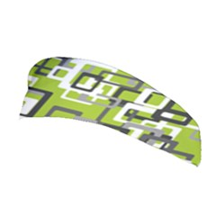 Pattern Abstract Form Four Corner Stretchable Headband
