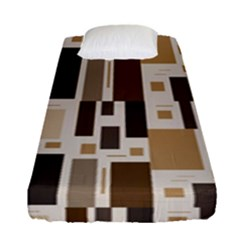 Pattern Wallpaper Patterns Abstract Fitted Sheet (single Size)