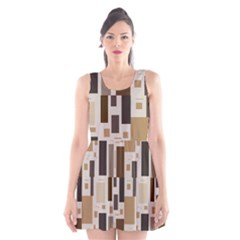 Pattern Wallpaper Patterns Abstract Scoop Neck Skater Dress