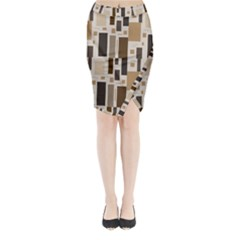 Pattern Wallpaper Patterns Abstract Midi Wrap Pencil Skirt
