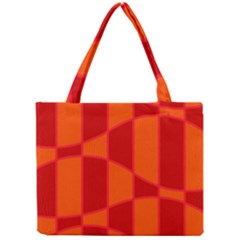 Background Texture Pattern Colorful Mini Tote Bag