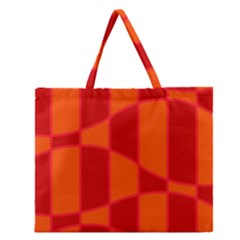Background Texture Pattern Colorful Zipper Large Tote Bag by Nexatart