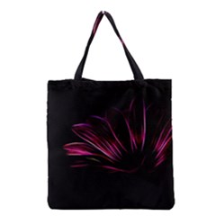 Pattern Design Abstract Background Grocery Tote Bag by Nexatart