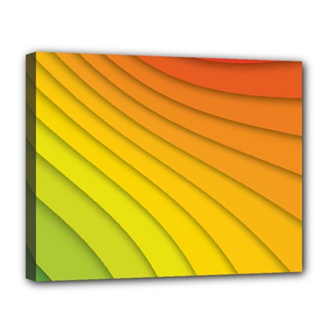 Abstract Pattern Lines Wave Canvas 14  X 11  by Nexatart
