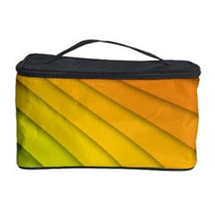 Abstract Pattern Lines Wave Cosmetic Storage Case by Nexatart