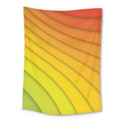 Abstract Pattern Lines Wave Medium Tapestry