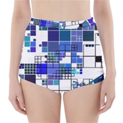 Design High Waisted Bikini Bottoms