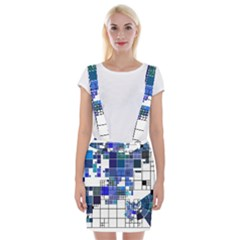 Design Braces Suspender Skirt