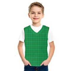 Pattern Green Background Lines Kids  Sportswear