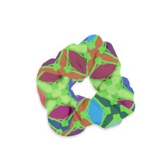 Abstract Pattern Background Design Velvet Scrunchie