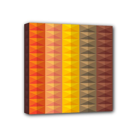 Abstract Pattern Background Mini Canvas 4  X 4  by Nexatart