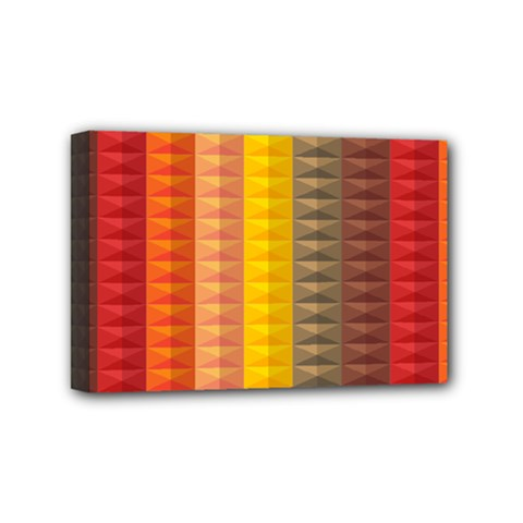 Abstract Pattern Background Mini Canvas 6  X 4  by Nexatart