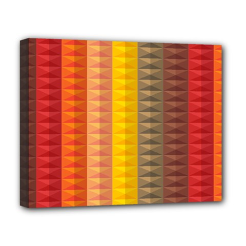 Abstract Pattern Background Deluxe Canvas 20  X 16   by Nexatart