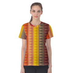 Abstract Pattern Background Women s Cotton Tee