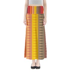 Abstract Pattern Background Maxi Skirts