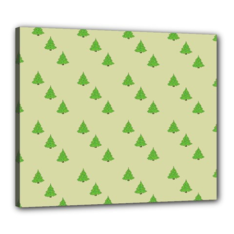 Christmas Wrapping Paper Pattern Canvas 24  X 20