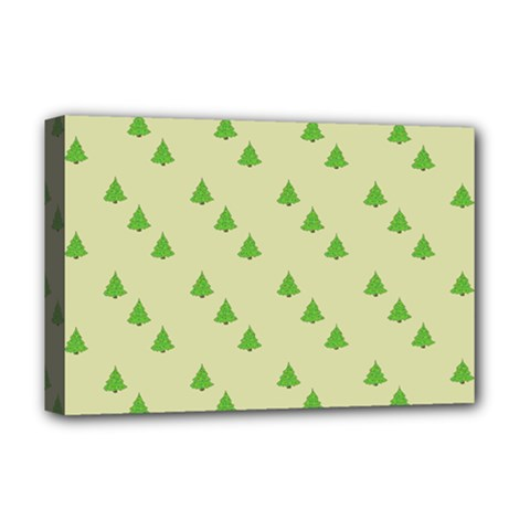 Christmas Wrapping Paper Pattern Deluxe Canvas 18  X 12   by Nexatart