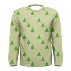 Christmas Wrapping Paper Pattern Men s Long Sleeve Tee