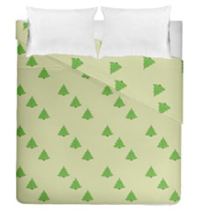 Christmas Wrapping Paper Pattern Duvet Cover Double Side (queen Size) by Nexatart