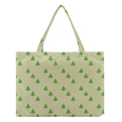 Christmas Wrapping Paper Pattern Medium Tote Bag by Nexatart