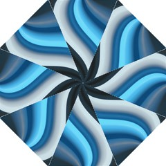 Abstract Pattern Lines Wave Folding Umbrellas