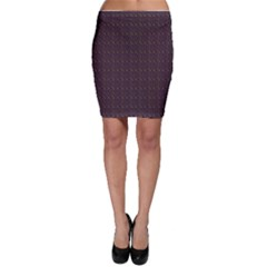 Pattern Background Star Bodycon Skirt