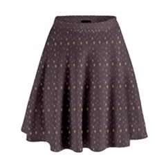 Pattern Background Star High Waist Skirt by Nexatart