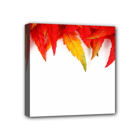 Abstract Autumn Background Bright Mini Canvas 4  X 4  by Nexatart
