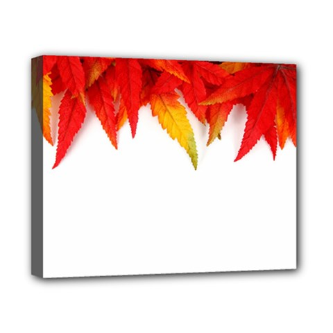 Abstract Autumn Background Bright Canvas 10  X 8