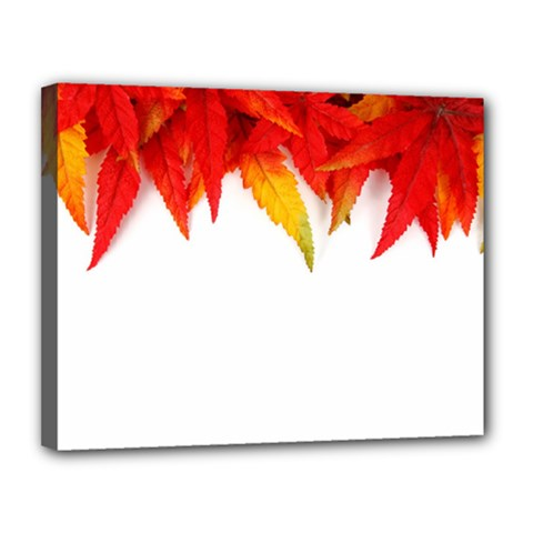 Abstract Autumn Background Bright Canvas 14  X 11  by Nexatart