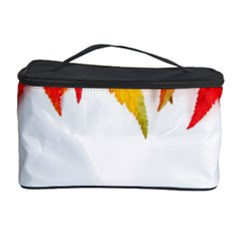 Abstract Autumn Background Bright Cosmetic Storage Case