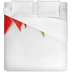 Abstract Autumn Background Bright Duvet Cover (king Size) by Nexatart