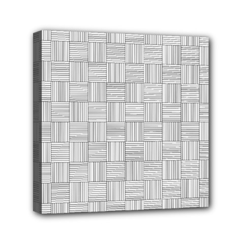 Flooring Household Pattern Mini Canvas 6  X 6  by Nexatart