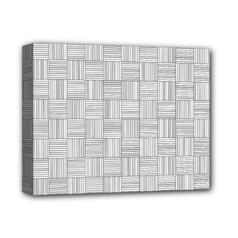 Flooring Household Pattern Deluxe Canvas 14  X 11  by Nexatart