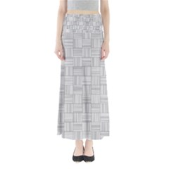 Flooring Household Pattern Maxi Skirts