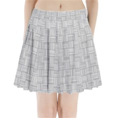 Flooring Household Pattern Pleated Mini Skirt