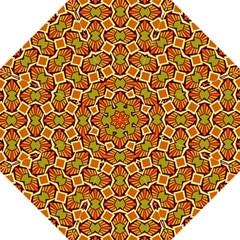 Geometry Shape Retro Trendy Symbol Folding Umbrellas