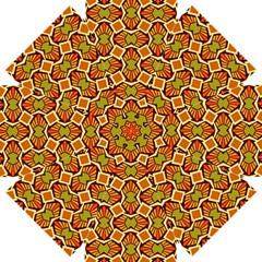 Geometry Shape Retro Trendy Symbol Straight Umbrellas by Nexatart