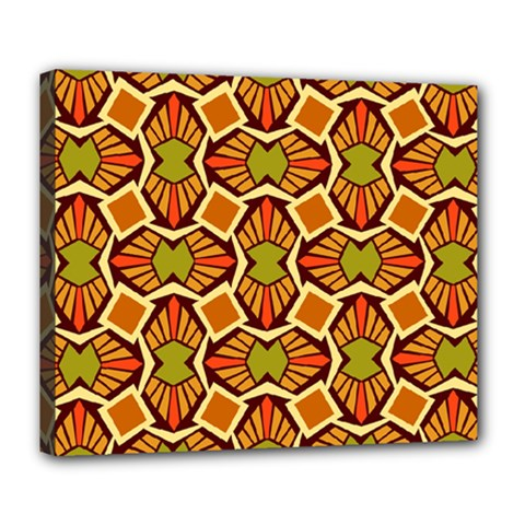 Geometry Shape Retro Trendy Symbol Deluxe Canvas 24  X 20