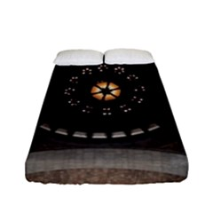 Pattern Design Symmetry Up Ceiling Fitted Sheet (full/ Double Size)