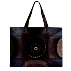 Pattern Design Symmetry Up Ceiling Zipper Mini Tote Bag by Nexatart