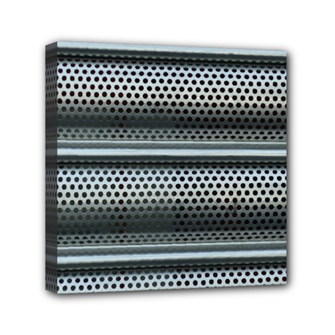 Sheet Holes Roller Shutter Mini Canvas 6  X 6