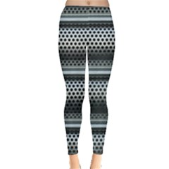 Sheet Holes Roller Shutter Leggings  by Nexatart