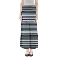 Sheet Holes Roller Shutter Maxi Skirts